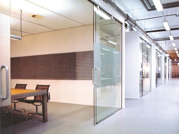 glazen kantoren
