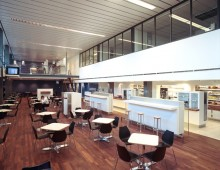rotterdam airport – interieur vertrekhal
