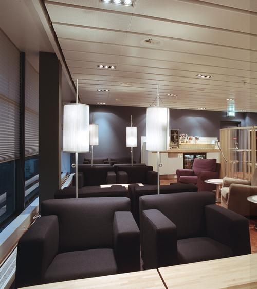 BA lounge