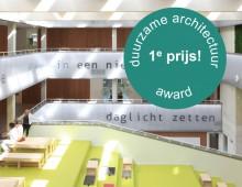 lyceum schravenlant – interieur – 1e prijs award duurzame architectuur