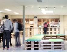 ijburg college 2 – interieur tijdelijke school